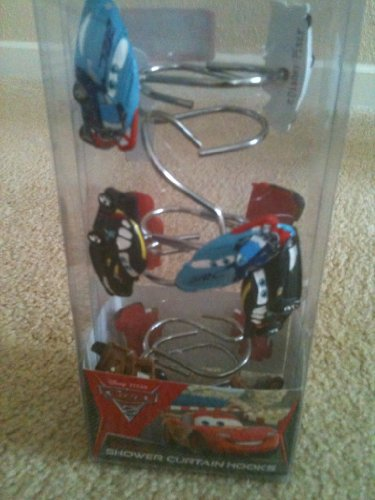 Amazon.com: Disney/Pixar Cars 2 Arrows Resin Shower Curtain Hooks: Home U0026  Kitchen