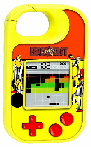 Atari Breakout Electronic Carabiner Game by Basic Fun