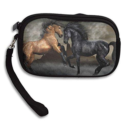 Dance Bag Deluxe Purse Small Printing Horse Art Receiving Portable gv4qwrgF