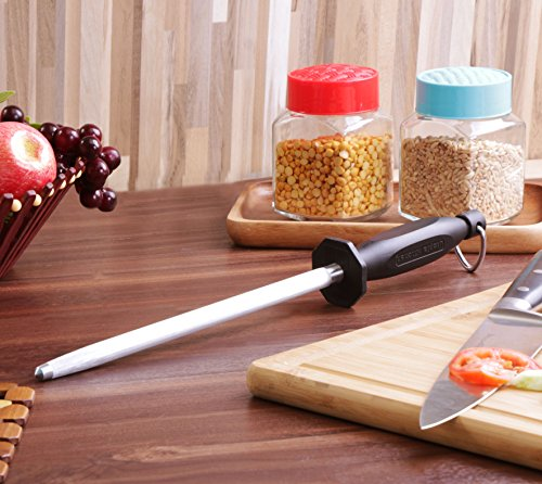 Utopia Kitchen 10 Inch Steel Knife Sharpening Rod by Utopia Kitchen (Image #2)