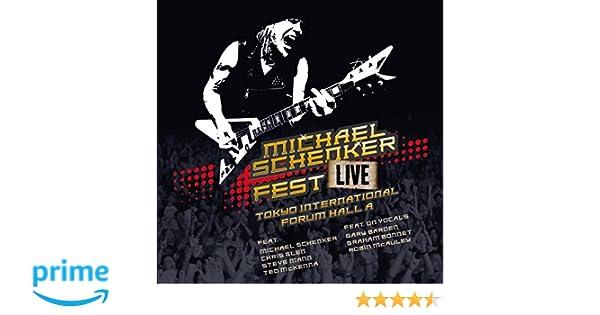 Live Tokyo International Forum Hall a: Michael Schenker Fest: Amazon.es: Música