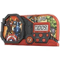 Avengers Assemble Night Glow Character Alarm Clock, Av-346
