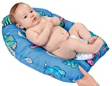 Leachco Safer Bather Infant Bath Pad, Blue Fish