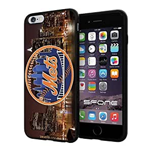 MLB New York Mets Apple Smartphone iphone 4s inch Case Cover Collector TPU Soft Black Hard Cases