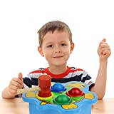 Cocal Whack A Mole Ball Game Fast Reflexes Language Learning Durable Turtle Learning Durable Wackamole Educational Toys For Kids