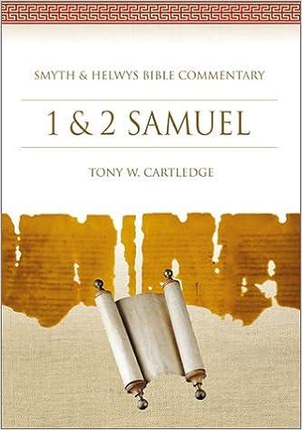 1 2 Samuel Bible Commentary Smyth Helwys Tony W Cartledge 9781573120647 Amazon Books