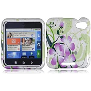 Compatible with Motorola Flipout MB511 ME511 Design Cover - Green Lily