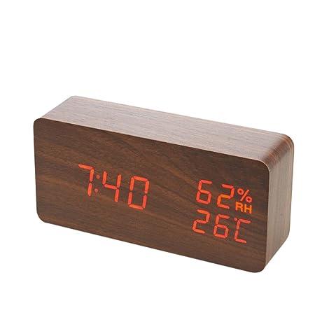Reloj despertador digital mesa infantil, Alarm Clock Despertador ...