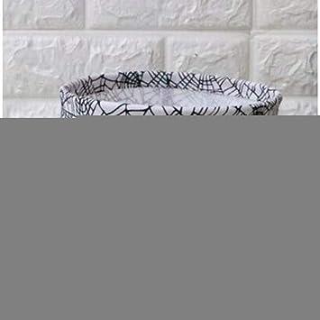 MJY Cesto de la ropa, Cesto de la ropa Caja de almacenamiento del escritorio Lino Algodón Geometría Patrón Organizador de almacenamiento Tela impermeable Organizador de la cesta de almacenamiento Gra: Amazon.es: Bricolaje
