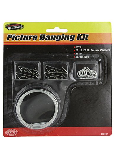 Picture hanging kit - Pack of 96