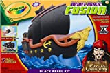 : Crayola Model Magic Fusion Structures Solid Pack Black Pearl Ship