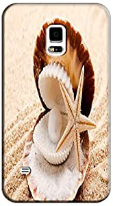 LKPOP Shell Design Cases / Covers Conch Cute Lovely Colorful Sun-Setting Cell Phone Case For Samsung Galaxy S5 i9600 # 9