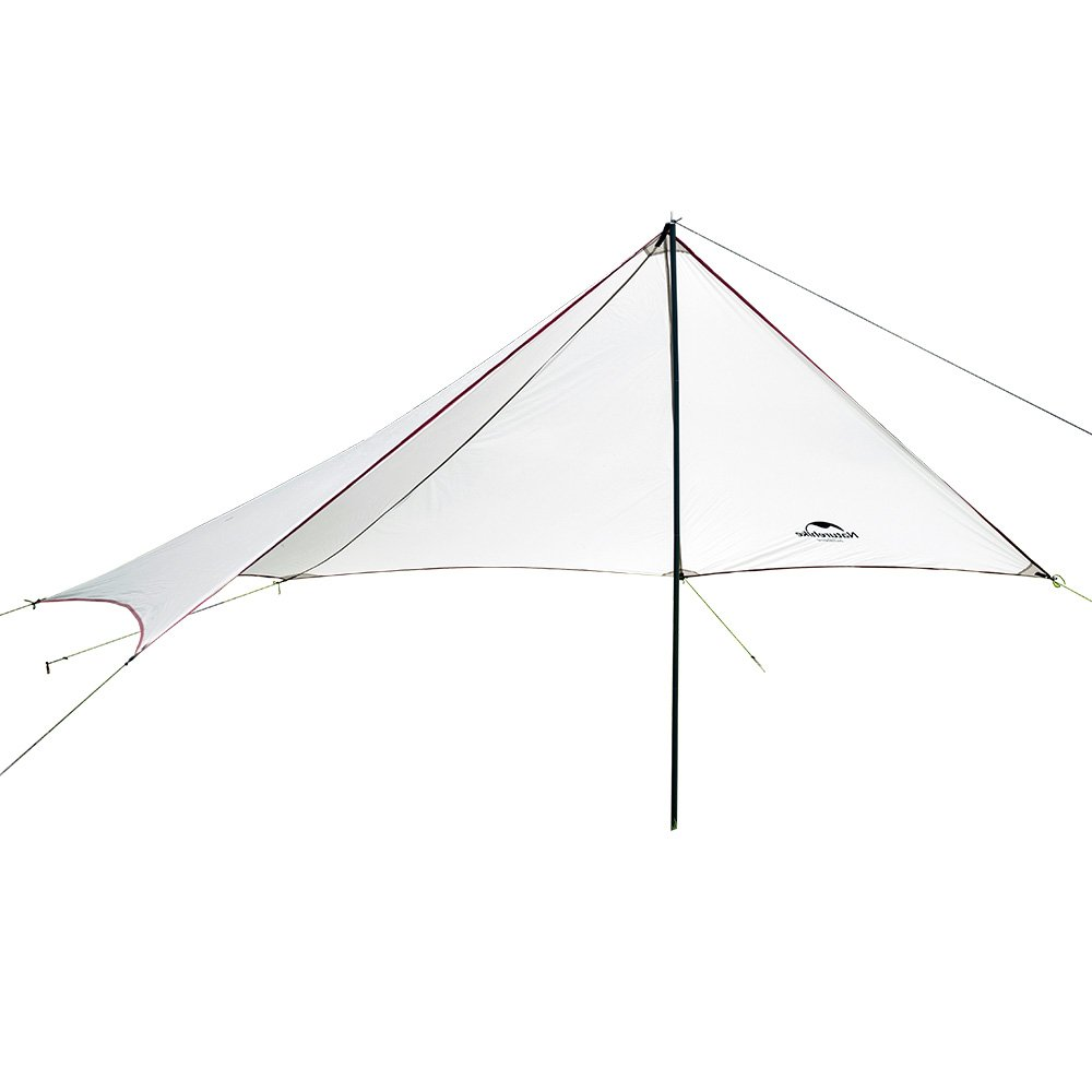 HYSENM Sonnensegel Sonnenzelt Markise Zelt Canopy Camping wasserdicht ultraleicht für 4 Personen