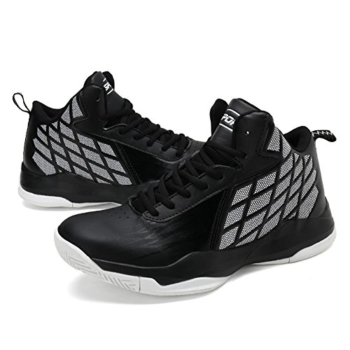 Aire Zapatos Respirables Gomnear Hombres La Deportiva De Que Baloncesto Tobillo Deportes Zapatillas Corren Al Negro Zapatilla Libre Los Deporte Ligeras Cv8vq