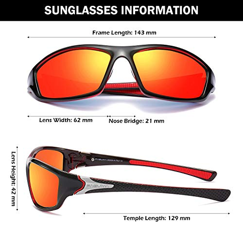 Sports Polarized Sunglasses For Men Cycling Driving Fishing 100% UV Protection 3