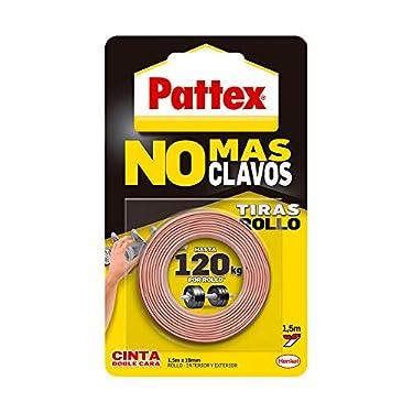 Pattex-No-Mas-Clavos-Cinta-cinta-adhesiva-para-aplicaciones-permanentes-cinta-de-doble-cara-extrafuerte-adhesivo-de-montaje-para-interior-y-exterior-19-mm-x-15-m