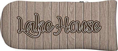 食用いっぱい相互接続Lake Houseパターカバー( Personalized )