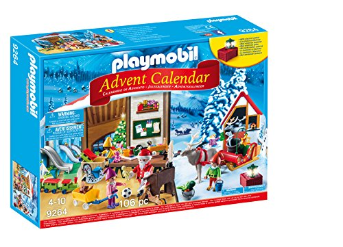 PLAYMOBIL Advent Calendar - Santa's Workshop (Christmas Advent Calendar)