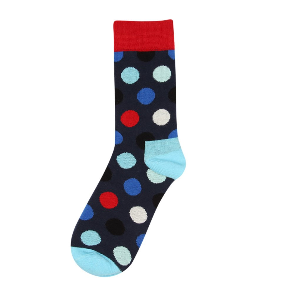 YAliDa 2019 clearance sale New Fashion Man Women Dot Print Colorful Cotton Sock Unisex Casual Sock