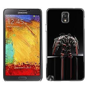 YiPhone /// Prima de resorte delgada de la cubierta del caso de Shell Armor - Mech Warrior - Samsung Galaxy Note 3 N9000 N9002 N9005