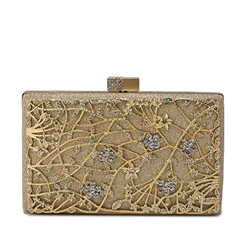 Flowers Gold Bag - 7