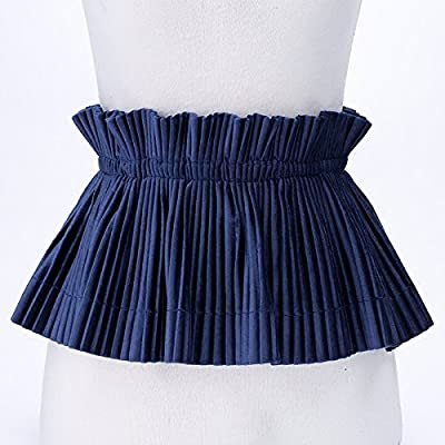 Accessoires grande taille joint jupe élastique élastique ceinture femme largeur décoration sac hanche robe velours jupe