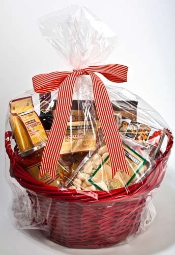 A1BS Clear Cello Cellophane Bags Gift Basket Package Flat Gift Bag (20 In X 30