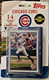 Chicago Cubs Official MLB Baseball Cards by Topps 728709