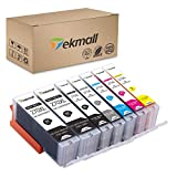 TekMall Compatible Ink Cartridges Replacement for PGI-270XL CLI-271XL Used for PIXMA MG7720 TS9020 TS8020 Printers 7 Pack (2PGBK, BK, C, M, Y, GY)