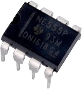 Texas Instruments NE555P IC Single Precision Timer (Pack of 12)