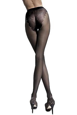Klara - Collant femme nylon 20 den Bikini tights - Fiore (3 b313ed9cc30