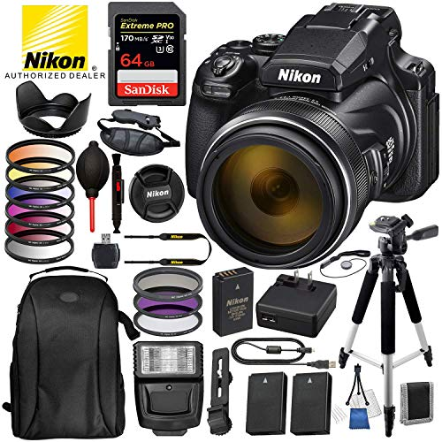 Nikon COOLPIX P1000 Digital Camera with...