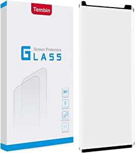 Tembin® 9H Hardness Note 9 Tempered Glass Screen Protector, Full Coverage 3D Curved Edge Premium HD Screen Film Dust Free/Bubble Free/Anti Fingerprint/Anti Scratch Compatible Samsung Galaxy Note 9