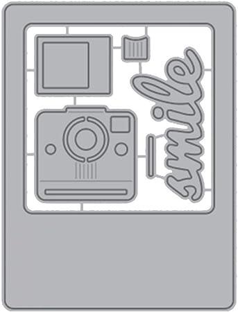Camera Metal Cutting Dies Scrapbooking Embossing Stencil Craft Die Card Making