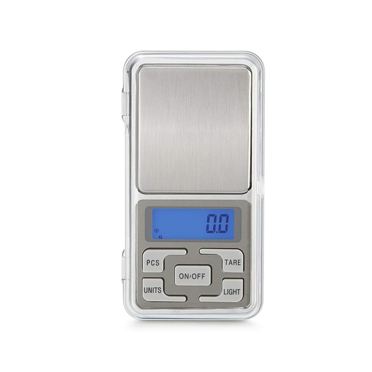 Tree-on-Life HT-668B 500 g x 0.01 g Mini balanza digital de precisi/ón para la balanza de plata esterlina de oro Balanza de joyer/ía Balanza balanzas electr/ónicas