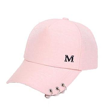 MDKZ Gorra Miau Verano De Mujer Otoño Negro Blanco Sombrero Rosa ...