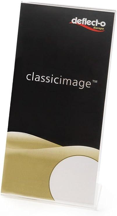 Portabrochure con base a L Deflecto A4 21,1x7x30,3 cm 47401