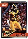 #4: 2018 Classics Football #90 Todd Gurley II Los Angeles Rams Panini NFL Card