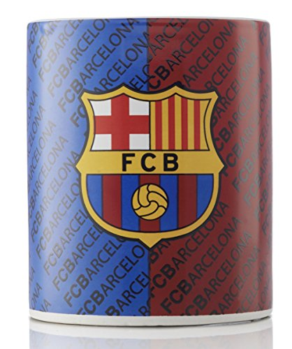 FC Barcelona Ceramic Coffee and Tea Mug - Great for all FC Barcelona Fans - Official Licensed Product by no!no!