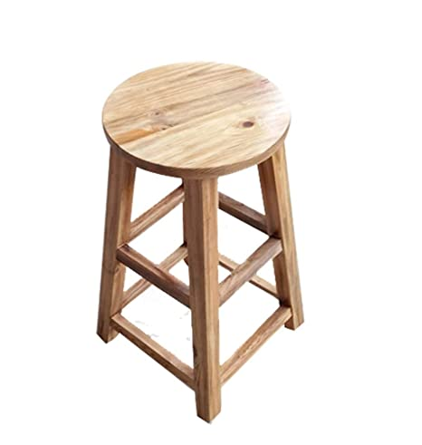 Awesome Amazon Com Solid Wooden Bar Chair Fixed Height Bar Stool Uwap Interior Chair Design Uwaporg