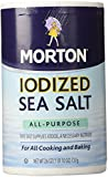 salt morton - Morton Salt Iodized Sea Salt - 26 oz