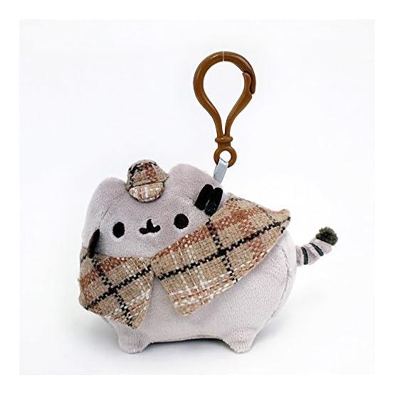 Pusheen Detective Plush   Bag Clip - 4.5 Inches 2