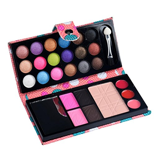 Start 26 Colors Eyeshadow Blush Lip Gloss Eyebrow Powder Face Highlight Foundation Powder Makeup Palette ()