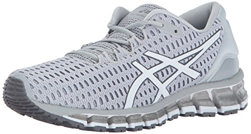 ASICS Womens Gel-Quantum 360 Shift Running Shoe, Glacier Grey/White/Carbon, 9 Medium US