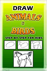 how to draw animals in simple steps book