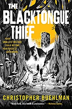 The Blacktongue Thief by Christopher Buehlman science fiction and fantasy book and audiobook reviews