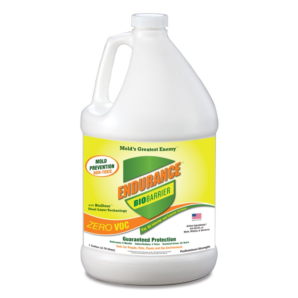 Long Lasting BioBarrier Mold Prevention Spray, Non Toxic, No Harmful Fumes, All Surfaces - 1 Gallon