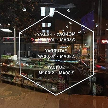 Ajcwhml Tienda horario de Apertura Logo simplificado Moderno ...
