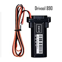 Drivool 890, GSM based GPS tracker for Car Bike Truck Taxi real time vehicle tracking with mobile APP