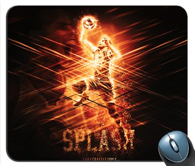 Steph Curry Golden State Splash Mouse Pad